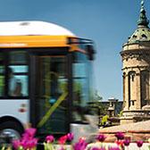 Mannheim Ausstellung in China - Elektrobus
