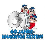 60 Jahre Panzerknacker Logo