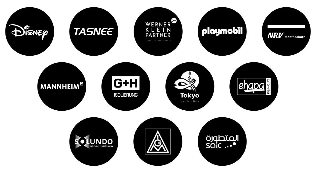 Referenzen Logo Kunden