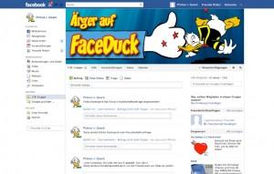 Social Media Disney Faceduck