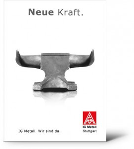 IG Metall Stuttgart Plakat