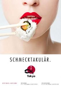 Tokyo Sushi Restaurant Plakat