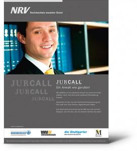 NRV Rechtsschutz Plakat