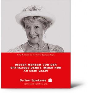 Sparkasse Plakat