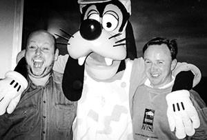 Disney Goofy und Lothar Rogal