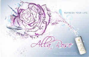 Alla Rose layout