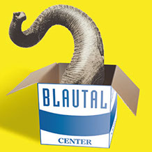 Blautal Center Plakat