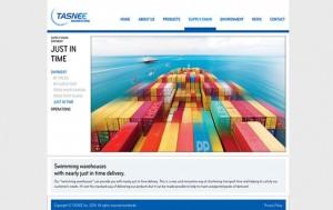 Tasnee Marketing Webseite