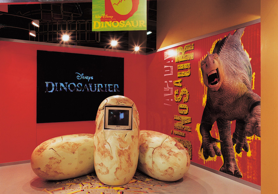 Messe Disney's Dinosaurier