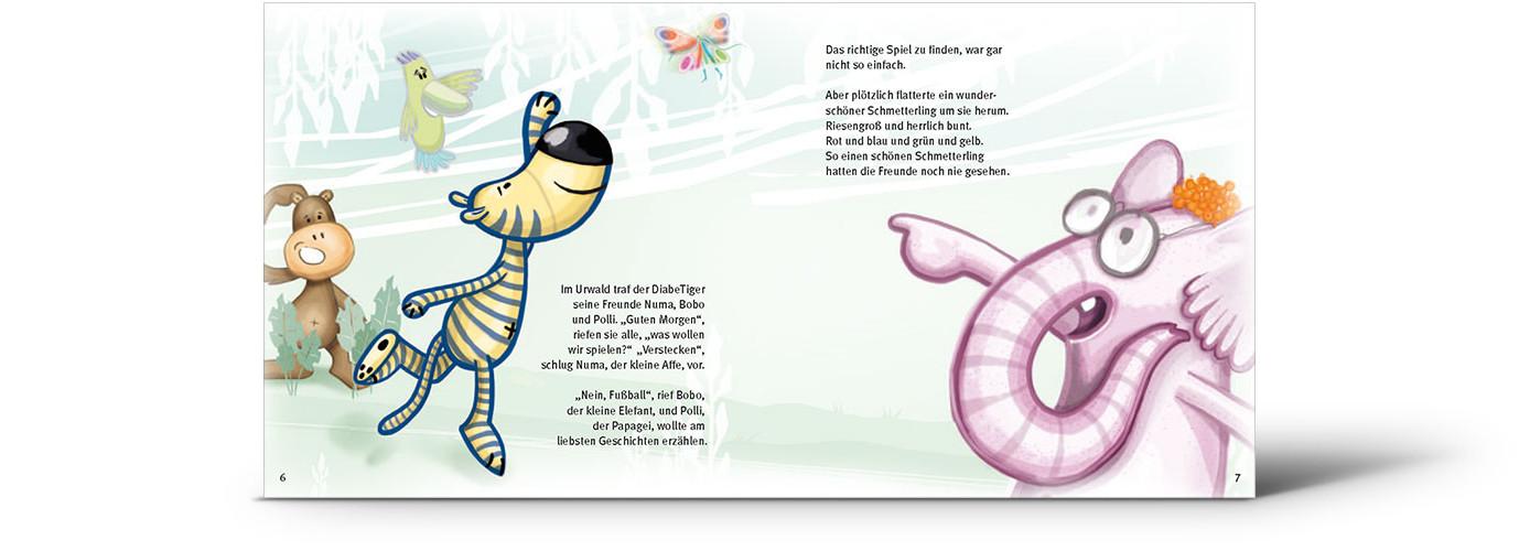 Der kleine Diabe Tiger Abenteuergeschichte
