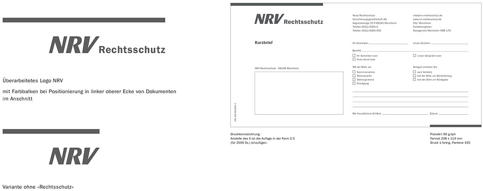 NRV Rechtsschutz Formular