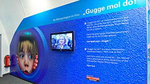 Messe Metro Ausstellungswand