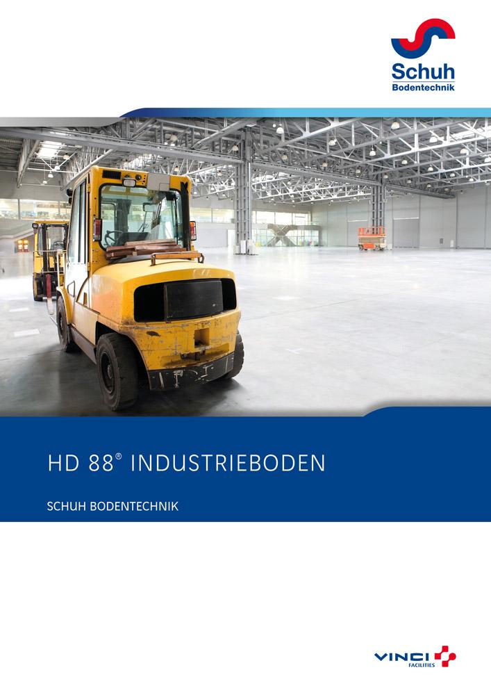 Schuh Bodentechnik Broschüre Industrieböden