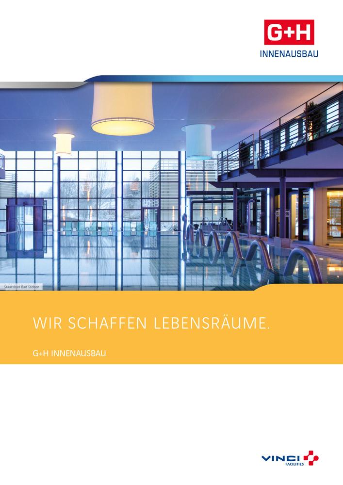 G+H Reinraumtechnik Broschüre Titelseite
