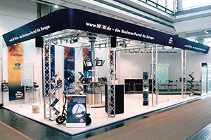 Messestand WLW Hamburg
