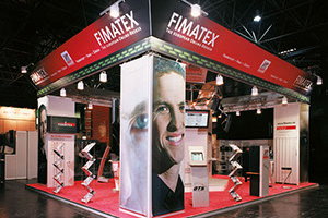 Messestand Soc.Gen. Fimatex Düsseldorf