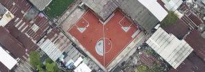 Spielplatz von oben