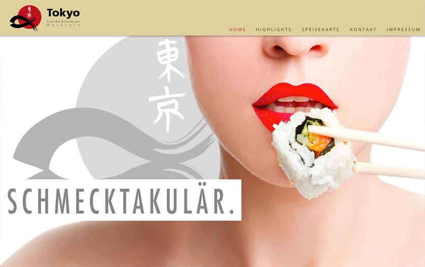 Webseite - Tokyo Shushi