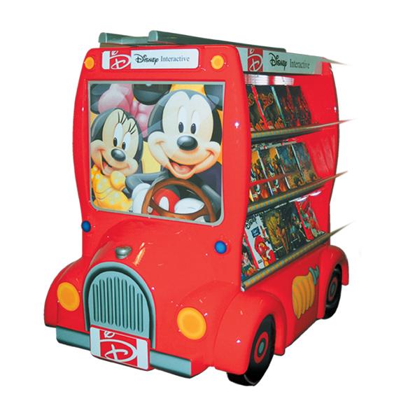 CD Display Micky Feuerwehrwagen Disney