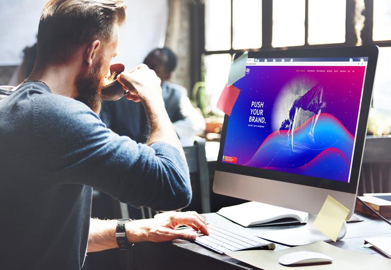 Werbeagentur Frankfurt - Webdesign Arbeitssituation