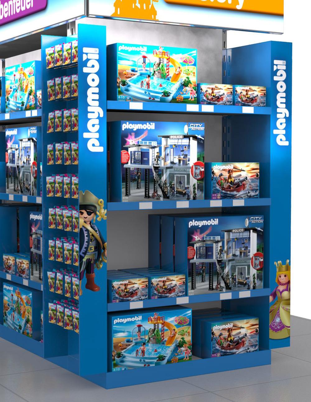 POS Display Playmobil Ausschnitt