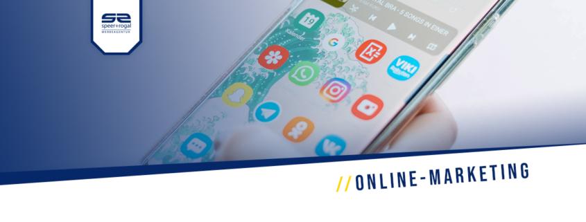 Online Marketing Titelbild Handy