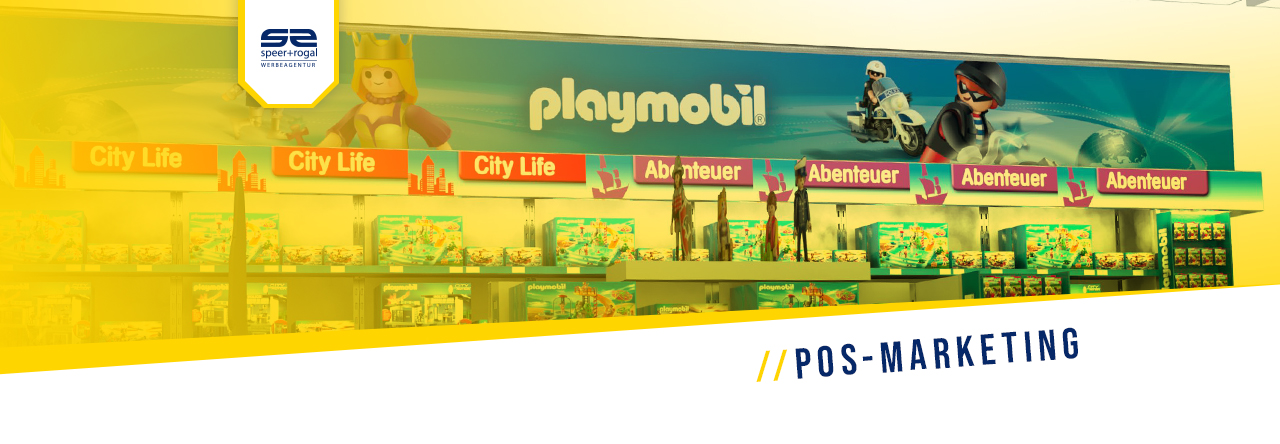 POS Marketing Playmobil Regal