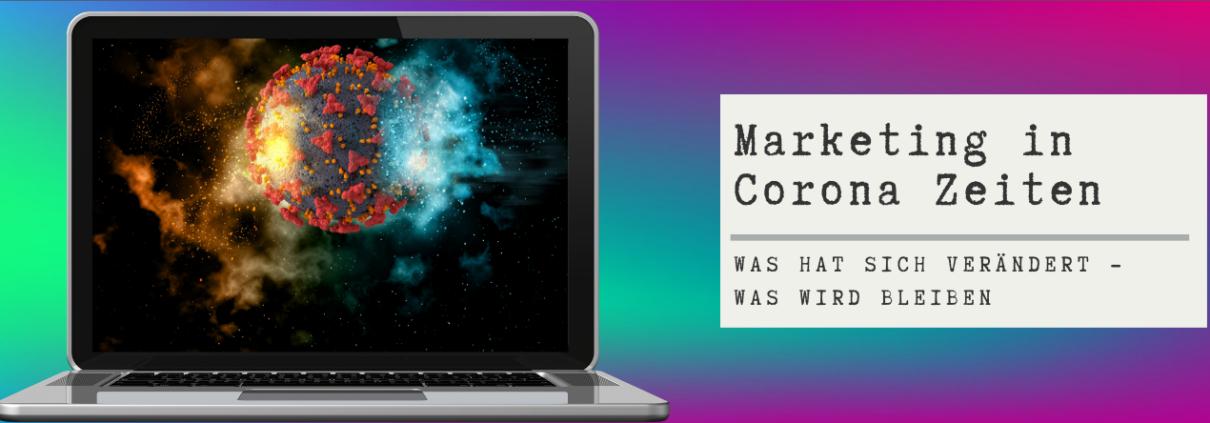 Blogvorschau Marketing und Corona
