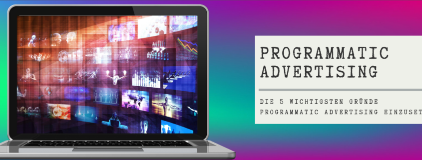 Blogvorschau Programmatic Advertising