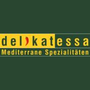 Delikatessa Logo mit Hintergrund