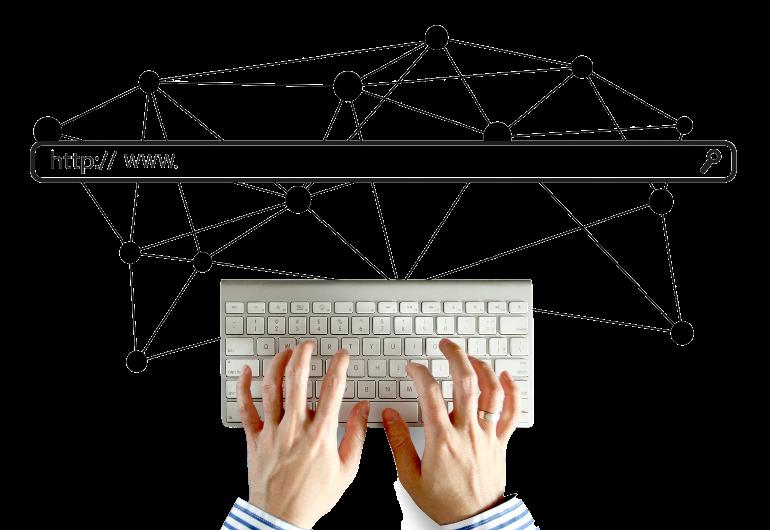 E Commerce Headerbild Social Media