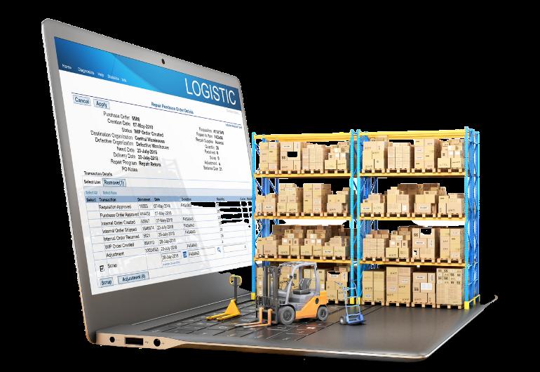 E Commerce Headerbild Onlineshop Logistik
